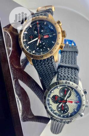 Chopard Chronograph Rubber Strap Watch | Watches for sale in Lagos State, Lagos Island (Eko)