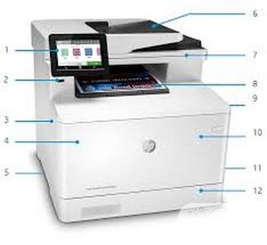 HP Laserjet Colour Multifunction Printers PRO M479FDW   Printers & Scanners for sale in Lagos State, Ikeja