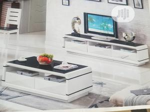 Quality Wooden Center Table With Tv Stand | Furniture for sale in Abuja (FCT) State, Wuse