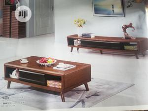 Pure Wood Center Table With Tv Stand | Furniture for sale in Abuja (FCT) State, Wuse