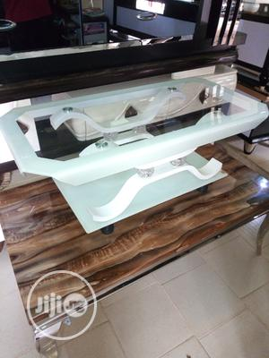 White Glass Center Table | Furniture for sale in Lagos State, Ojo