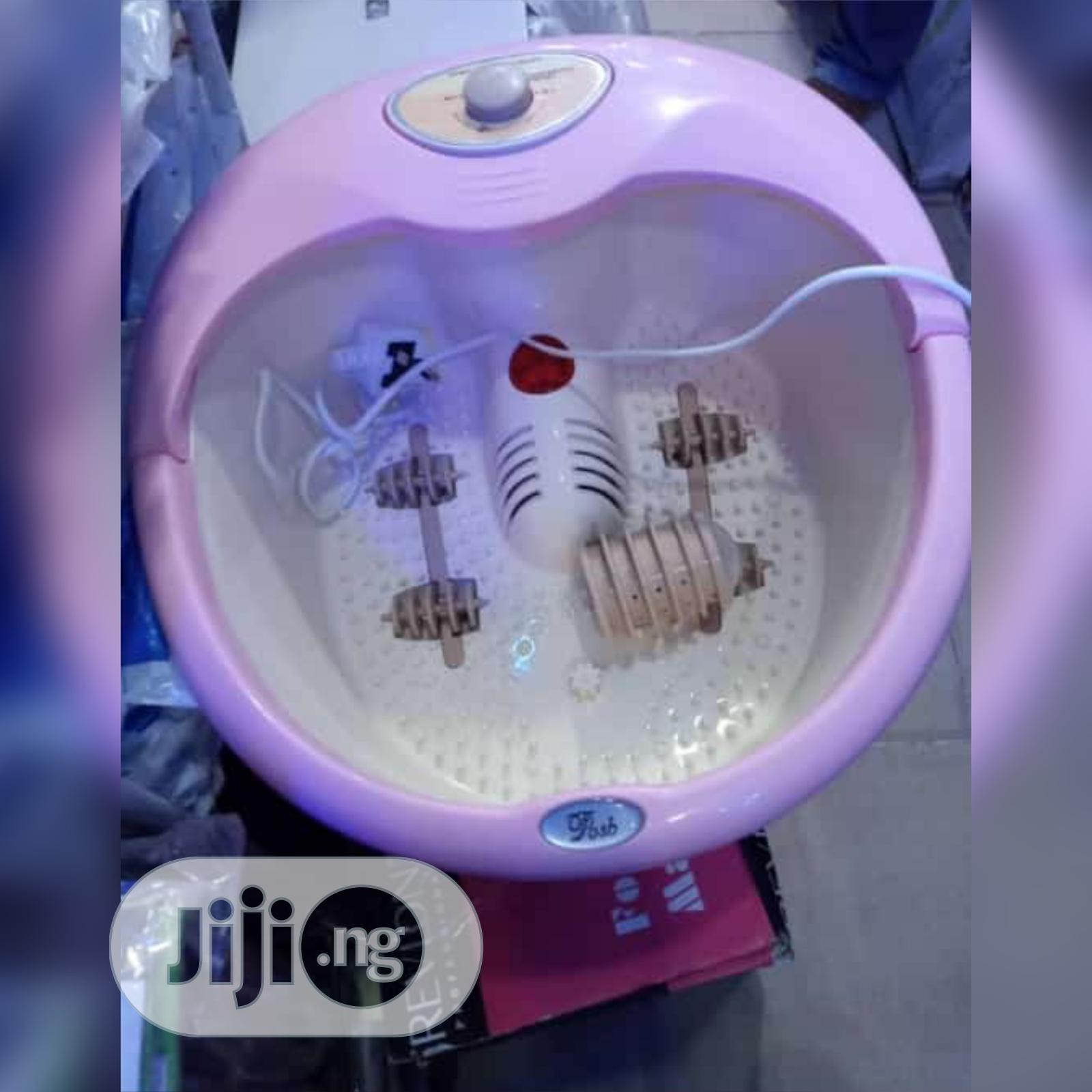 Digital Foot Massaging Tub