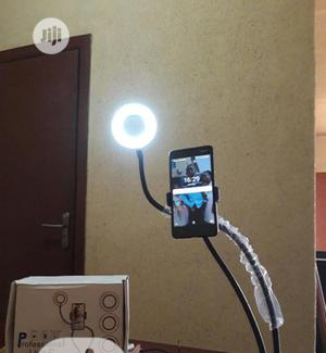 Live Stream Selfie Ring Light With Phone Holder | Accessories & Supplies for Electronics for sale in Lagos State, Ikeja
