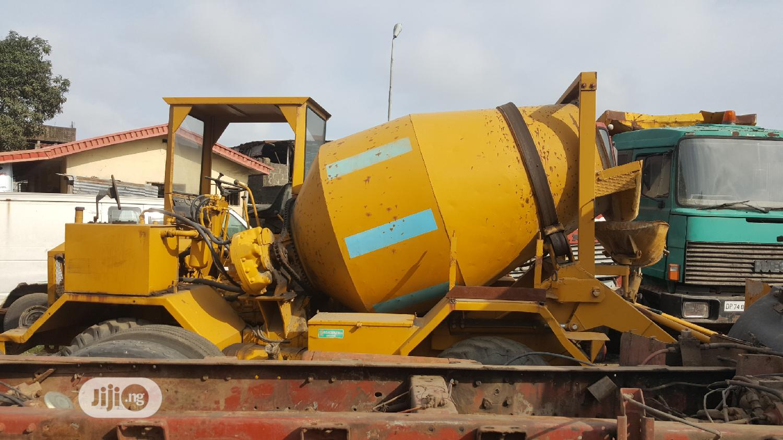 New Arrival Self Loader Concrete Mixer 3.5cubic Deutz   Heavy Equipment for sale in Apapa, Lagos State, Nigeria