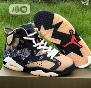 Original *Air Jordan 6 X Cactus Jack(Bandana) | Shoes for sale in Lagos State, Surulere