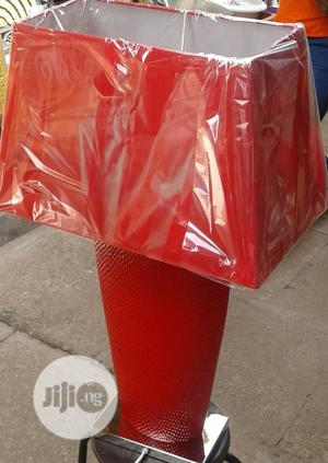 CIMC Bahamas Table Lamp With Red Shade   Home Accessories for sale in Lagos State, Lekki