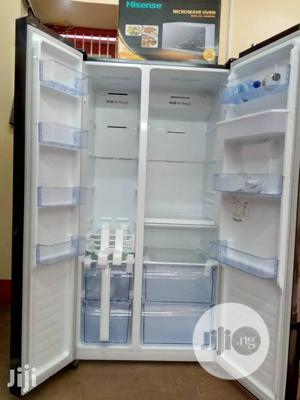 Brand New Hisense Side by Side Fridge, External Compressor,   Kitchen Appliances for sale in Lagos State, Ojo