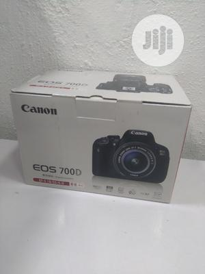 Canon Eos 700d With 18-55mm Lens (Brand New) | Photo & Video Cameras for sale in Lagos State, Ikeja