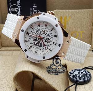 Unique Hublot Geneve in White Wrist Watch   Watches for sale in Lagos State, Lagos Island (Eko)