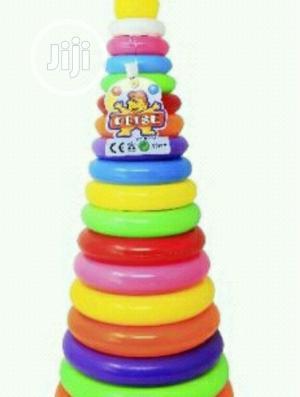 Big Rainbow Stacking Circle Play Set Rattle   Toys for sale in Lagos State, Lagos Island (Eko)