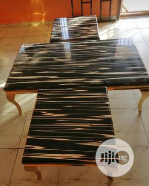Center Table & Side Stools   Furniture for sale in Lagos State, Ikeja