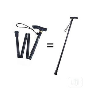Foldable Walking Stick - Black   Tools & Accessories for sale in Lagos State, Surulere