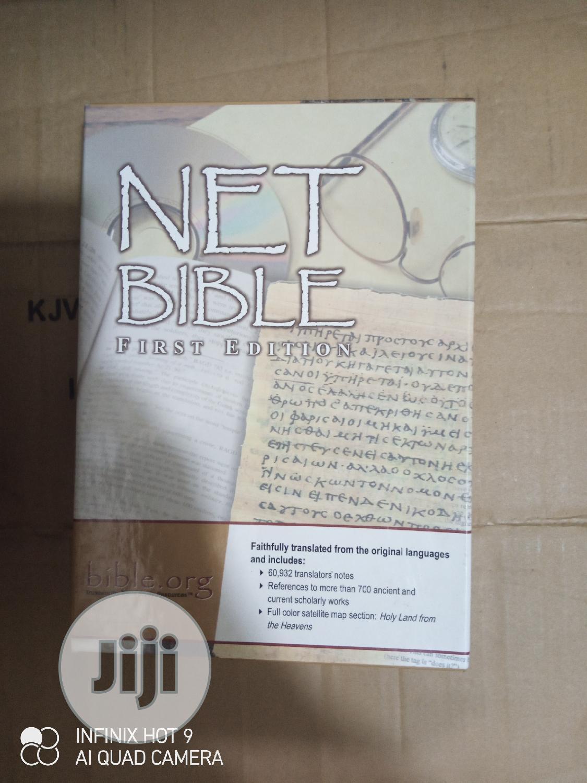 NET BIBLE First Edition