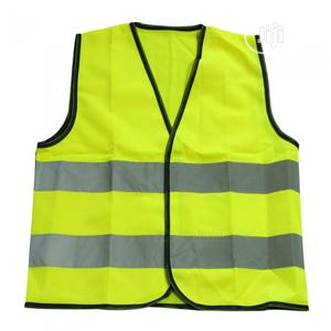 Reflective Vest Warning High Visibility Fluorescent Jacket | Safetywear & Equipment for sale in Lagos State, Gbagada