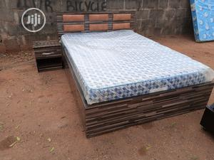 4,1/2 By 6fits Bed With Matress. | Furniture for sale in Lagos State, Ikorodu