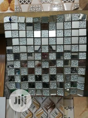 30/30 Silver Glass Mosaic Tile   Building Materials for sale in Lagos State, Agege