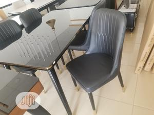 Quality Wood/Glass Dinning Table With 4 Chairs | Furniture for sale in Abuja (FCT) State, Wuse
