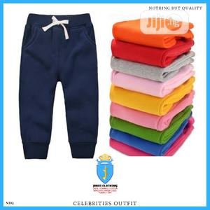 Kids Unisex Cotton Joggers Outfit | Children's Clothing for sale in Lagos State, Lagos Island (Eko)