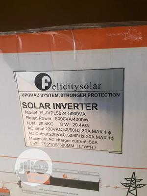 5kva 24v Felicity Inverter Is Available   Solar Energy for sale in Lagos State, Ojo
