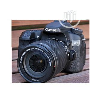 Used CANON EOS 70D Video Camera | Photo & Video Cameras for sale in Lagos State, Ikeja
