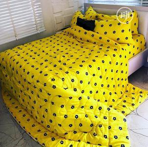 Quality Duvet, Bedsheet With 4 Pillow Cases   Home Accessories for sale in Lagos State, Ikeja