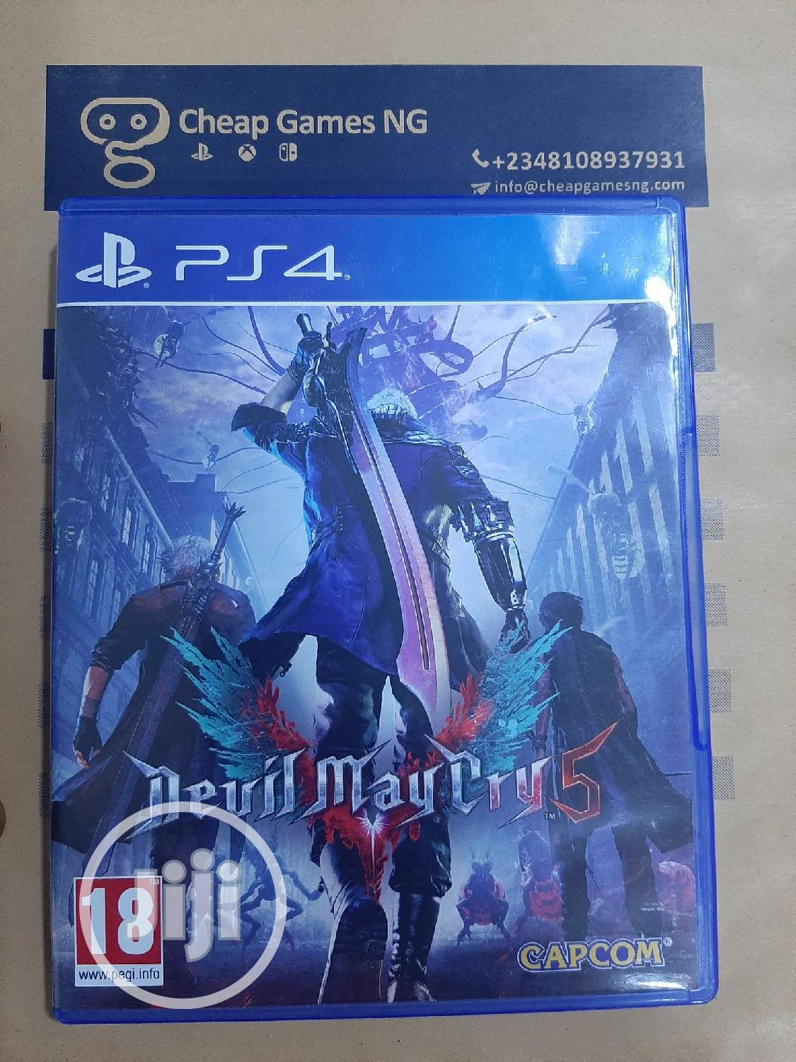Archive: PS4 Devil May Cry 5