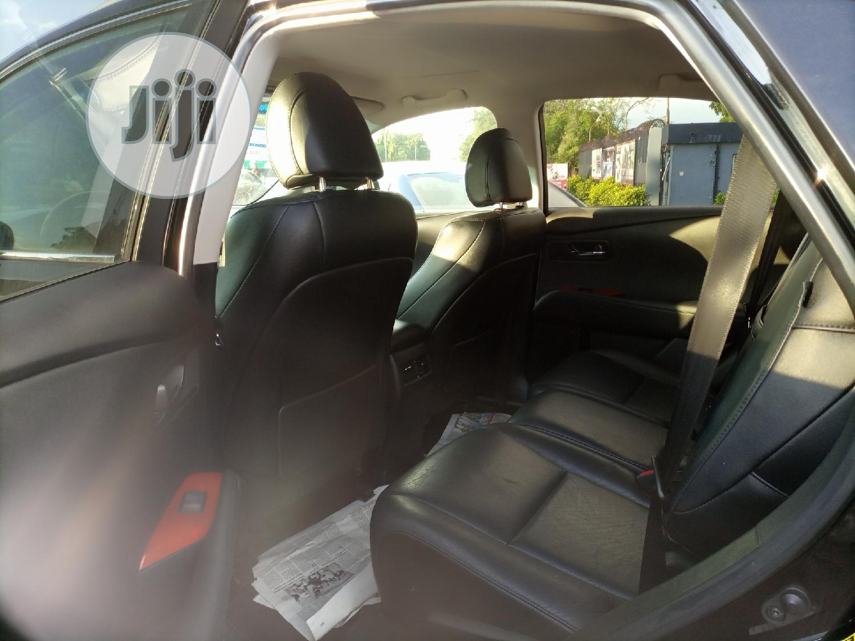 Archive: Lexus RX 2012 350 AWD Black