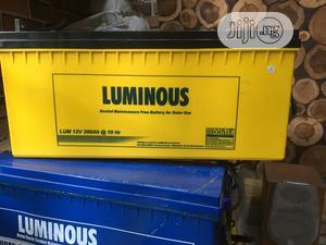 Luminous 200A 12vdc Battery   Solar Energy for sale in Lagos State, Ikoyi