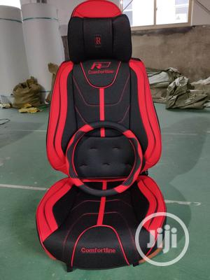 R-power Red And Black Design Leather Car Seat Cover   Vehicle Parts & Accessories for sale in Lagos State, Surulere