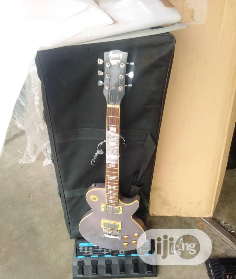 UK Used Electric Jazz Guitar