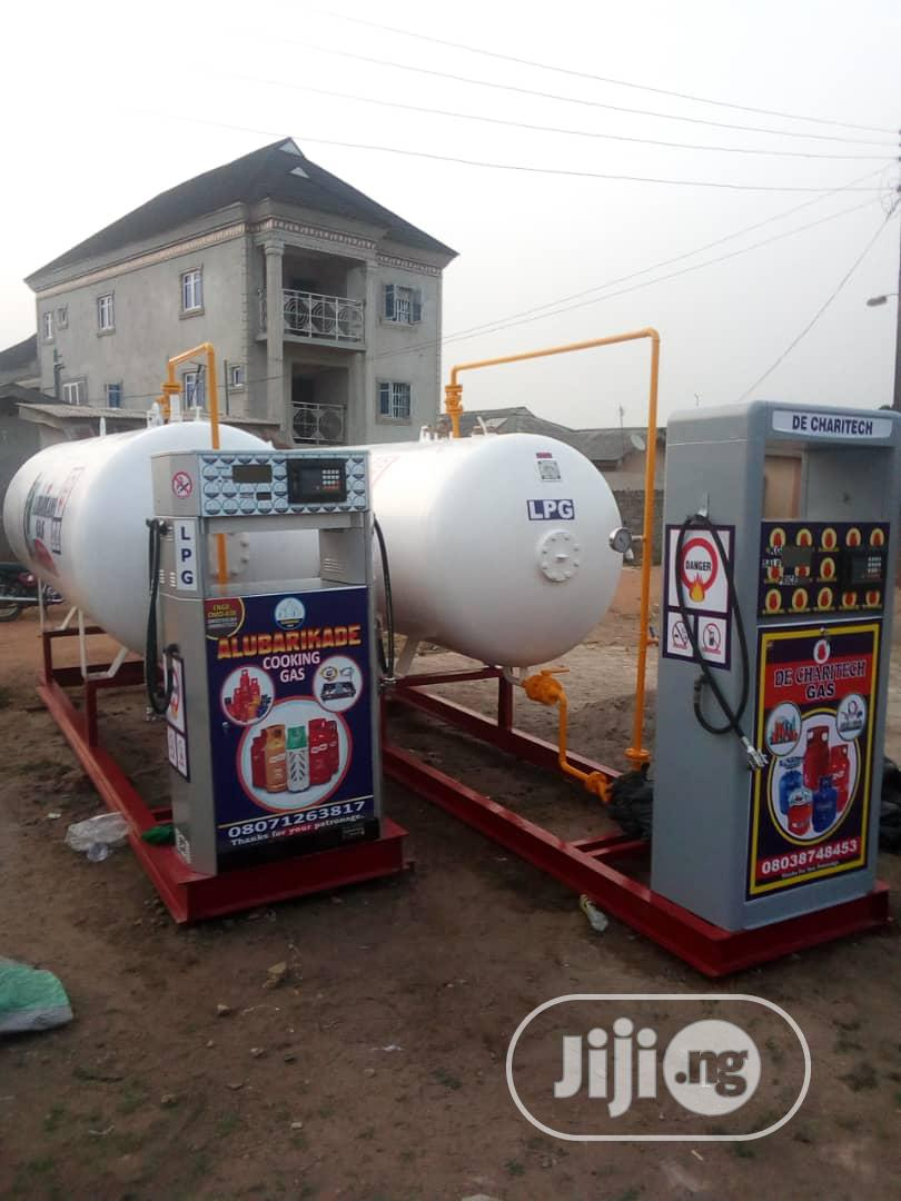 LPG Business, Filling Station Constructions