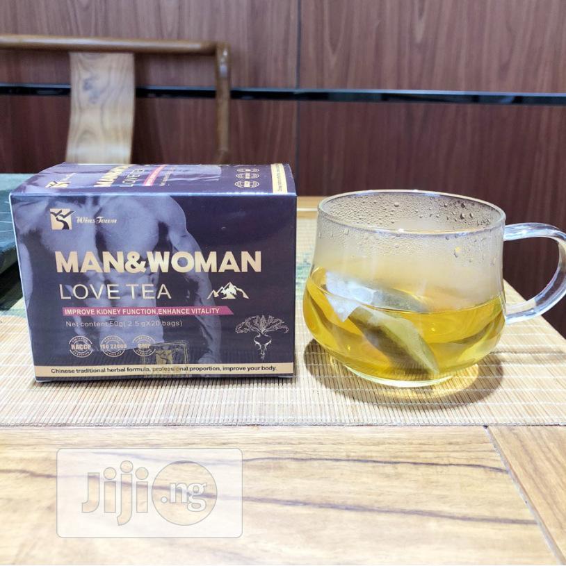 Archive: Man & Woman Love Tea