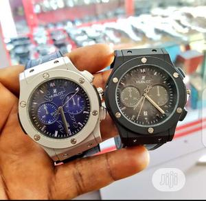 Hublot Watch Leather Watch | Watches for sale in Rivers State, Port-Harcourt