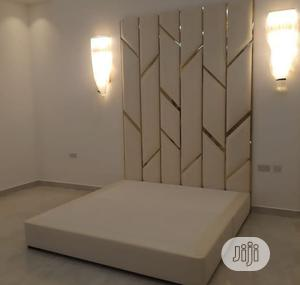 Luxuriate 6by6ft Upholstery Bedframe | Furniture for sale in Lagos State, Ikeja