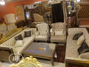 Turkey Sofa With Center Table And Side Stool | Furniture for sale in Lagos State, Lekki
