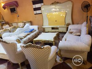 Turkey Royal Sofa With Center Table And Side Stool | Furniture for sale in Lagos State, Surulere