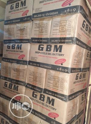 12v 200ah Gbm Battery Available | Solar Energy for sale in Lagos State, Ojo