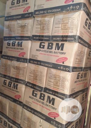 12v 200ah Gbm Battery | Solar Energy for sale in Lagos State, Ojo