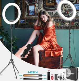Selfie Ring Light With Stand, Phone Holder & Remote | Accessories & Supplies for Electronics for sale in Lagos State, Lagos Island (Eko)
