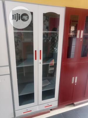 Full Glass Metal Filing Cabinet | Furniture for sale in Lagos State, Ikeja