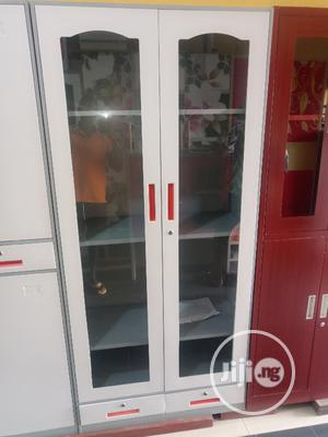 Best Classic Full Glass Metal Filing Cabinet   Furniture for sale in Lagos State, Gbagada