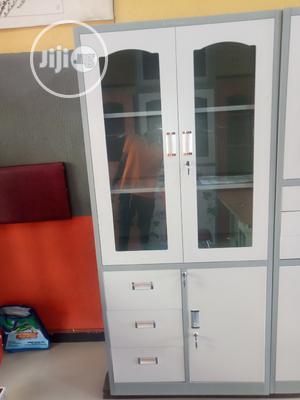 Half Glass Metal Filing Cabinet   Furniture for sale in Lagos State, Lekki