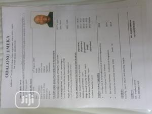 Security CV | Security CVs for sale in Lagos State, Victoria Island