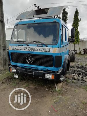Mercedes Benz Truck Blue | Trucks & Trailers for sale in Lagos State, Apapa