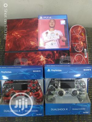 Playstation 4 Plus 2 Controllers Plus FIFA 20 CD | Video Game Consoles for sale in Abuja (FCT) State, Wuse