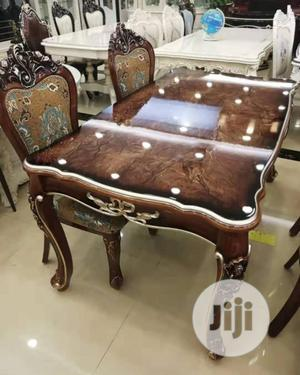 Quality Royal Wooden Dinning Table With 6 Chairs | Furniture for sale in Abuja (FCT) State, Wuse