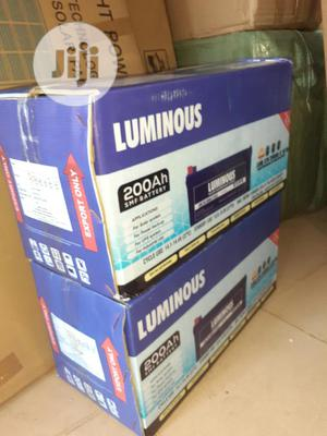 12v 200ah Luminous Battery Now Available   Solar Energy for sale in Lagos State, Ojo