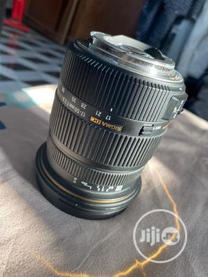Canon Sigma DC 17-50mm 1:2.8 EX HSM CROP Lens. | Accessories & Supplies for Electronics for sale in Lagos State, Ikeja