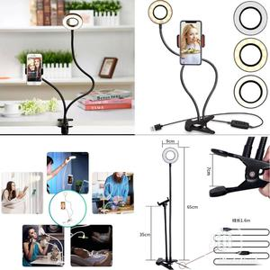 Phone Holder With Selfie Light   Accessories for Mobile Phones & Tablets for sale in Lagos State, Lagos Island (Eko)