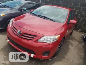 Toyota Corolla 2013 Red   Cars for sale in Lagos State, Apapa